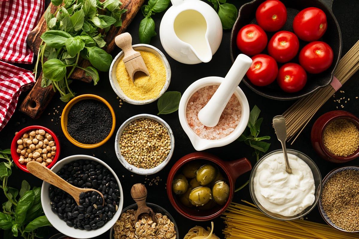 Griekse quinoa salade